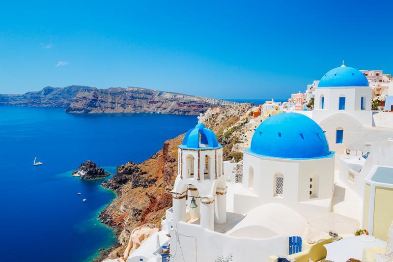 放弃国内高薪选择神话般的希腊定居